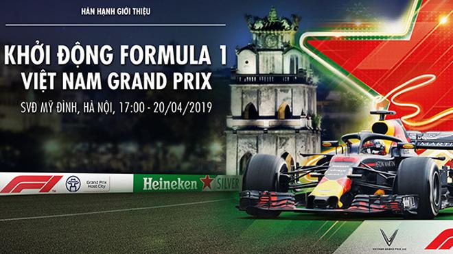 Khởi động F1 Việt Nam Grand Prix tại SVĐ Quốc gia Mỹ Đình ngày 20/4