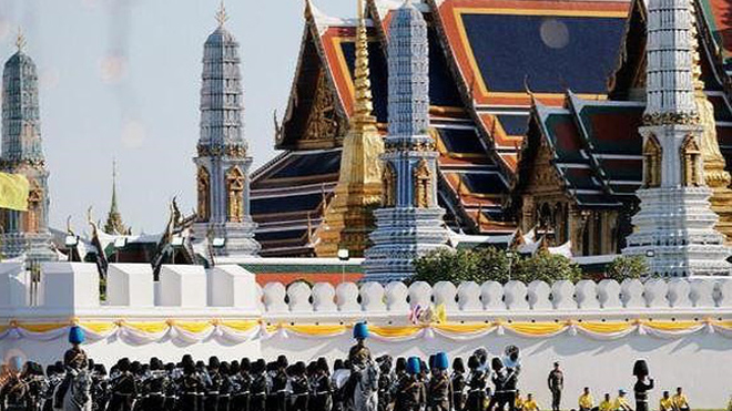 Thái Lan hoàn tất công tác chuẩn bị cho Lễ Đăng quang của Nhà vua Rama X