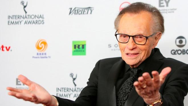 'Vua truyền hình' Mỹ Larry King phải nhập viện điều trị Covid-19