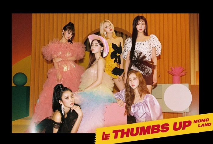 Momoland, Thumbs Up momoland, Nancy momoland, Jooe, Jane, Hyebin, Ahin