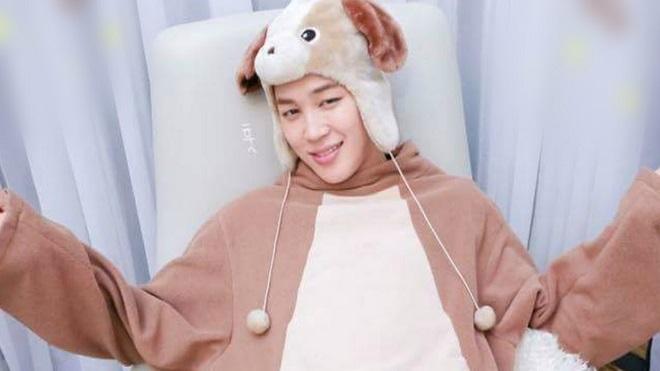 Ngây ngất với 'chú cún con' Jimin BTS trong BANG BANG CON
