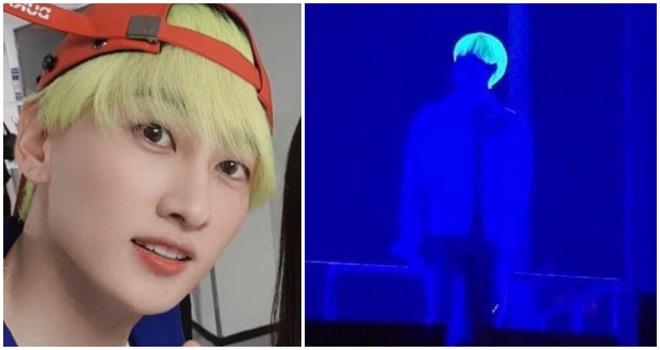 Kpop, Twice, Nancy, Tzuyu, Momoland, NCT, taeyong nct, super junior, eunhyuk, sao kpop nhuộm tóc xanh