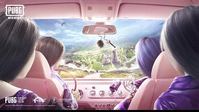 Blackpink, Jennie, Jisoo, Rosé, Lisa, Blackpink 2020, blackpink quảng bá game, pugb mobile, blakcpink và pugb mobile, blackpink ice cream, blackpink quảng cáo