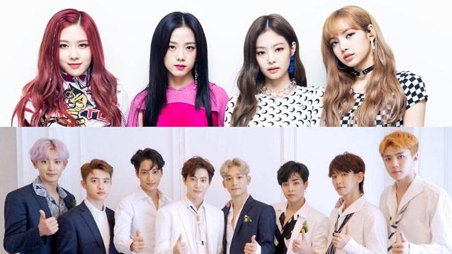 Blackpink, EXO, Jennie, Jisoo, Lisa, Rosé, Sehun, Suho, Chanyeol, Lay, Blackpink EXO, Blackpink quảng bá, Blackpinkd đại diện thương hiệu, Blackpink 2020, Blackpink ảnh