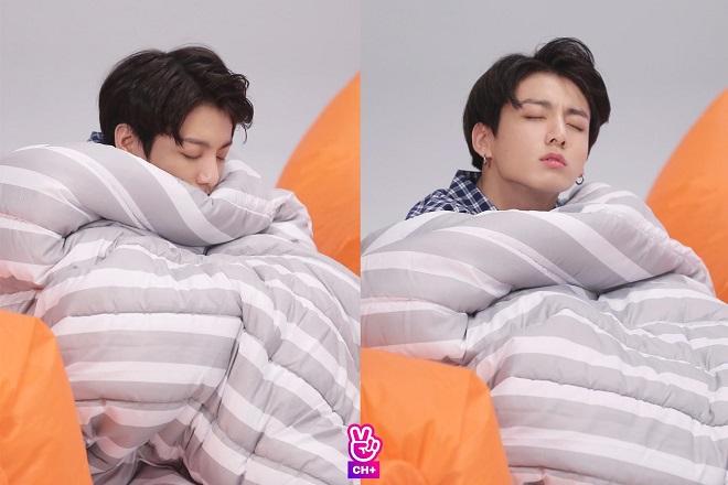 BTS, RM, Jin, J-Hope, Jungkook, V, BTS 2020, 4 thành viên cóthói quen khi ngủ siêu hài hước củaBTS, thói quen ngủ của BTS, BTS bóc phốt nhau, BTS ngủ, BTS tin tức