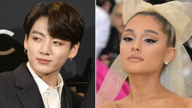 Màn hợp tác giữa Jungkook BTS và Ariana Grande, BTS, Jungkook, Ariana Grande, Jungkook hợp tác với Ariana, jungkook ariana grande, ảnh Jungkook, Ariana concert