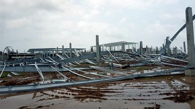 Quảng Ninh, sập nhà, khu công nghiệp, nhà máy, công trường