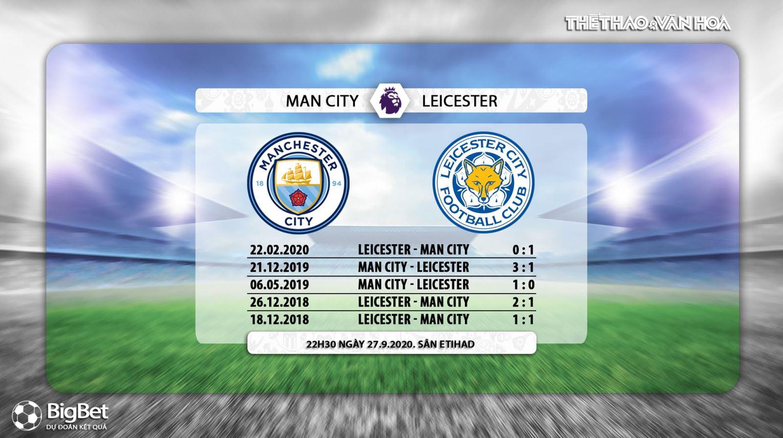 Truc tiep Man City dau voi Leicester, Trực tiếp bóng đá Anh, trực tiếp ngoại hạng Anh vòng 3, K+, K+PM, xem bóng đá trực tiếp Man City vs Leicester City, Man City