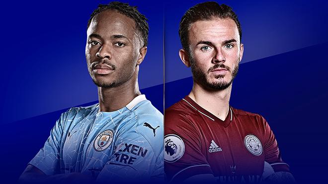 Trực tiếp bóng đá. Man City vs Leicester. K+PM trực tiếp vòng 3 Ngoại hạng Anh