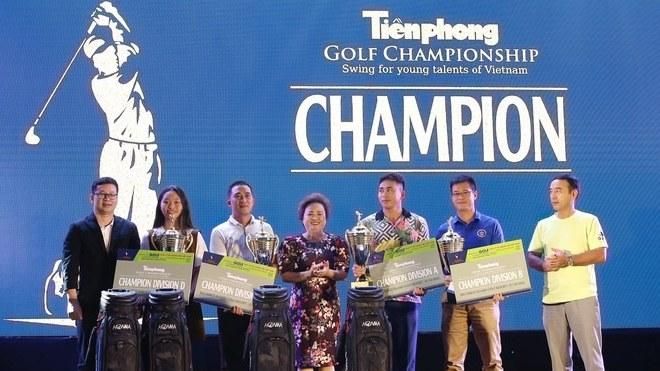 Tiền Phong Golf Championship 2020 chào đón tân vô địch