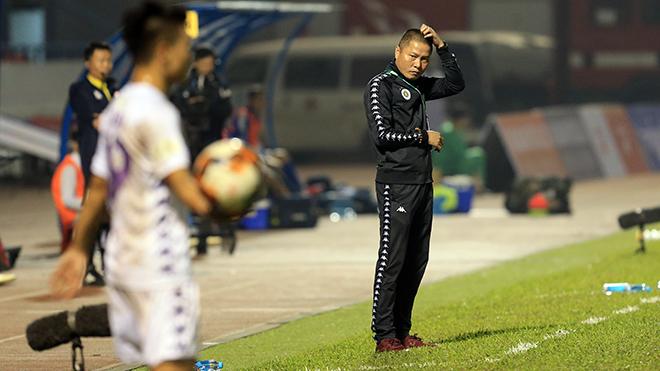 CLB Hà Nội và thử nghiệm thất bại của HLV Chu Đình Nghiêm