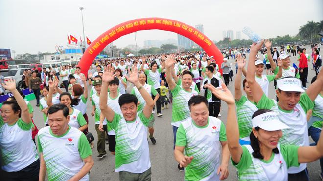 Hà Nội phát động Ngày chạy Olympic vì sức khỏe toàn dân 2019