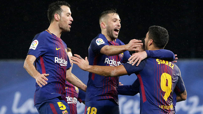 Kết quả bóng đá Tây Ban Nha La Liga vòng 34: Barcelona kiên trì bám đuổi Real Madrid