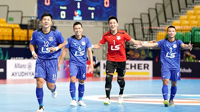 TRỰC TIẾP BÓNG ĐÁ: Thái Sơn Nam vs Shenzhen Nanling (17h00 hôm nay). Trực tiếp Futsal Châu Á