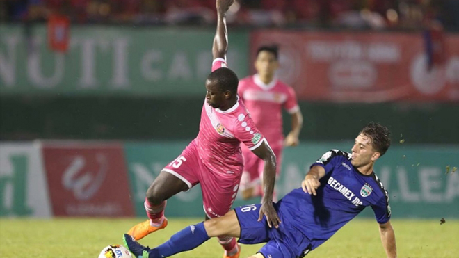 Kết quả bóng đá V-League 2020 vòng 10: Sài Gòn xây chắc ngôi đầu