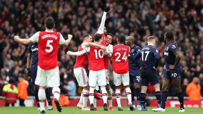Video clip bàn thắng trận Arsenal vs Newcastle
