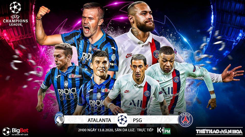 Xem trực tiếp bóng đá Atalanta vs PSG ở đâu? Link xem trực tiếp tứ kết C1 châu Âu