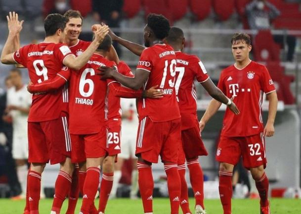 Video Bayern Munich vs Salzburg. Video clip bàn thắng Bayern Munich vs Salzburg