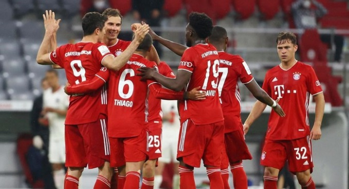 Video Bayern Munich vs Lokomotiv Moskva. Video clip bàn thắng Bayern Munich