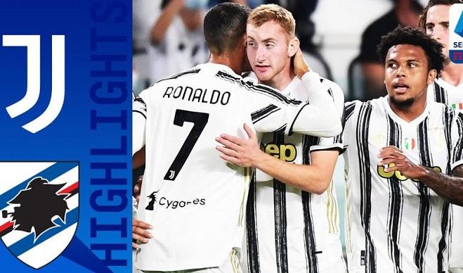 Video clip bàn thắng Juventus vsSampdoria