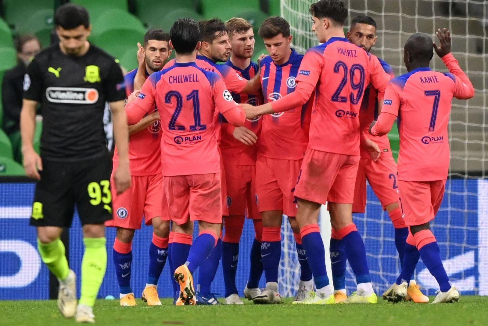 Video Krasnodar vs Chelsea. Video clip bàn thắng trậnKrasnodar vs Chelsea.Kết quảbóng đá trực tuyến Krasnodar đấu với Chelsea. Kết quả vòng bảng cúp C1 châu Âu