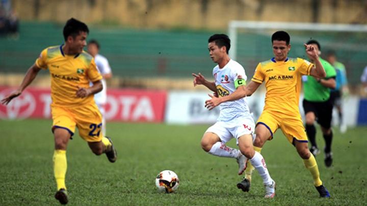 Trực tiếpHAGL vs SLNA. VTV6, BĐTVtrực tiếp bóng đá Việt Nam hôm nay