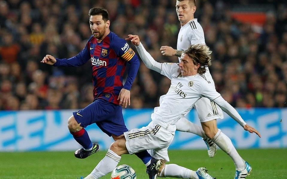 Lịch thi đấu bóng đá Tây Ban Nha vòng 30:Real Madrid vs Barcelona