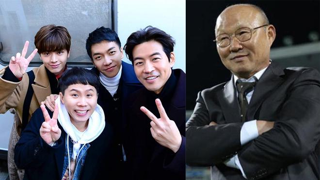 Lee Seung Gi, Lee Sang Yoon của 'Master in the house' sẽ học được gì từ HLV Park Hang Seo?