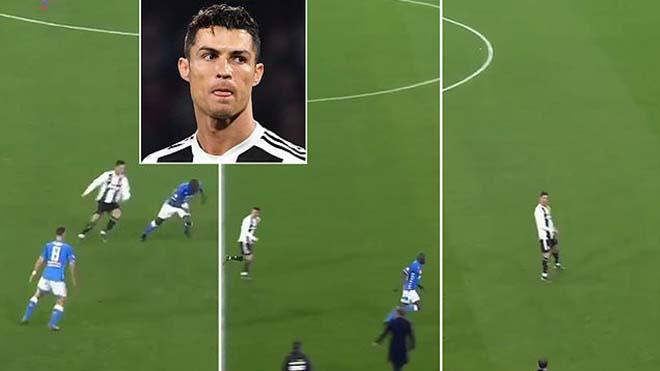 Nổi giận, Ronaldo quát tháo HLV Juventus ngay trên sân
