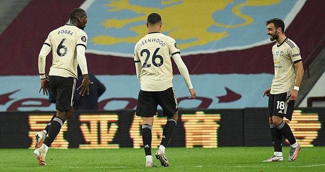 MU, Aston Villa 0-3 MU, MU lập một loạt kỉ lục ngoại hạng Anh, BXH bóng đá Anh, kết quả bóng đá Anh, kết quả MU, lịch thi đấu bóng dá Anh, Bảng xếp hạng ngoại hạng Anh