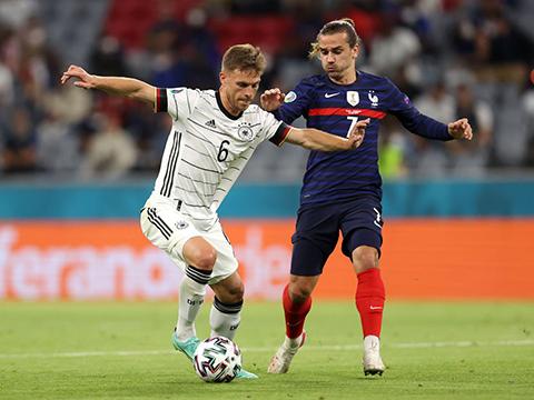 ĐIỂM NHẤN Pháp 1-0 Đức:Hàng công đôi bên kém duyên. Xu hướng phản lưới gia tăng