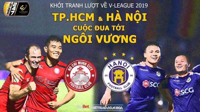 V League vòng 14: TPHCM, Hà Nội FC và cuộc đua tới ngôi vương (Trực tiếp VTV6, BĐTV, FPT Play)