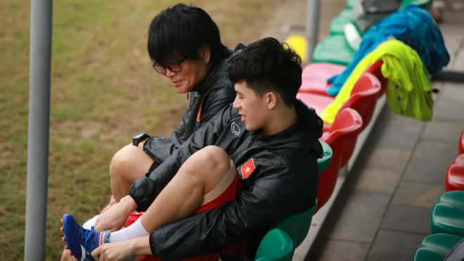bong da, bóng đá Việt Nam, lịch thi đấu bóng đá hôm nay, trực tiếp bóng đá, lịch thi đấu tuyển Việt Nam, Thầy Park sẽ giành giải HLV xuất sắc, Đình Trọng tập U22