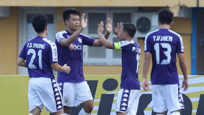 TRỰC TIẾP Hà Nội FC 2-0 Tampines Rovers. Ceres Negros 0-0 Bình Dương: Anh Đức đá hỏng 11m (H1)