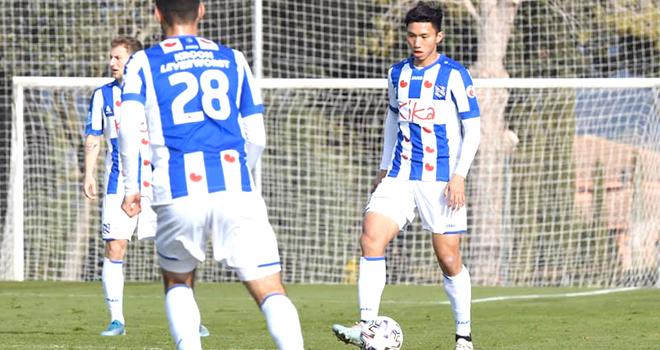 HLV Park Hang Seo, Văn Hậu, Heerenveen, DTVN, V League