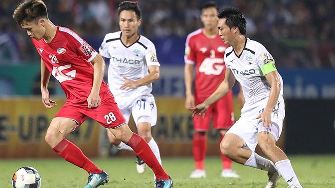 bóng đá Việt Nam, tin tức bóng đá, bong da, tin bong da, HAGL, Tuấn Anh, HLV Kiatisuk, bầu Đức, HAGL vs SLNA, lịch thi đấu vòng 2 V-League 2021, BXH V-League