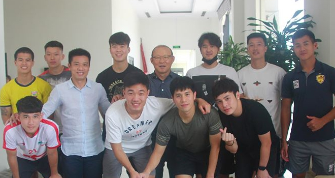 HLV Park Hang Seo, Đình Trọng, Xuân Trường, Xuân Mạnh, PVF, DTVN