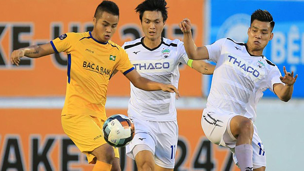 bóng đá Việt Nam, tin tức bóng đá, bong da, tin bong da, HAGL, U17 Nutifood vs U17 SLNA, HAGL, bầu Đức, Văn Quyến, lịch thi đấu vòng 13 V League