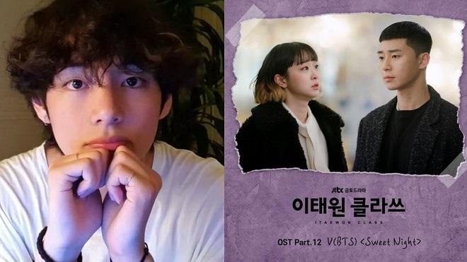 V BTS khàn ấm vỗ về trong MV toàn nước mắt cho 'Itaewon Class'
