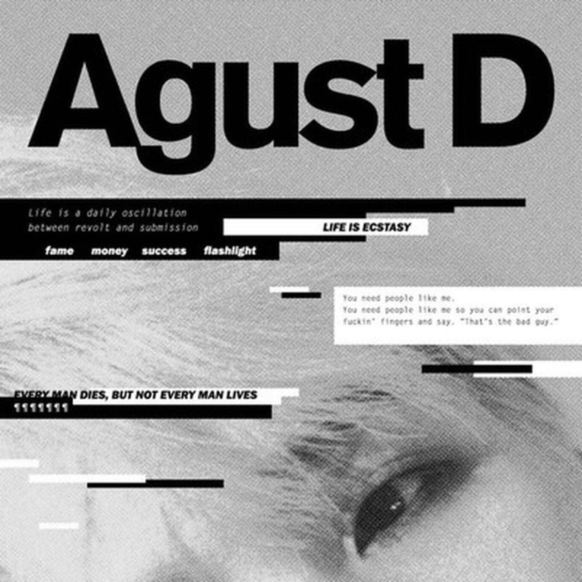 Suga BTS, Suga BTS cực quái trong MV và mixtape mới, Mixtape mới của Suga, mixtape mới D-2 của Suga, rapper Agust D, sample Daechwita, a khúc mới của Suga