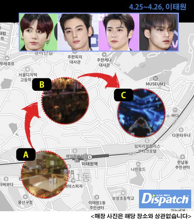 BTS, Jungkook, Covid-19, Jungkook đi ăn giữa mùa dịch, bê bối của Jungkook, Jungkook đi ăn ở Itaewon, Jungkook Covid-19