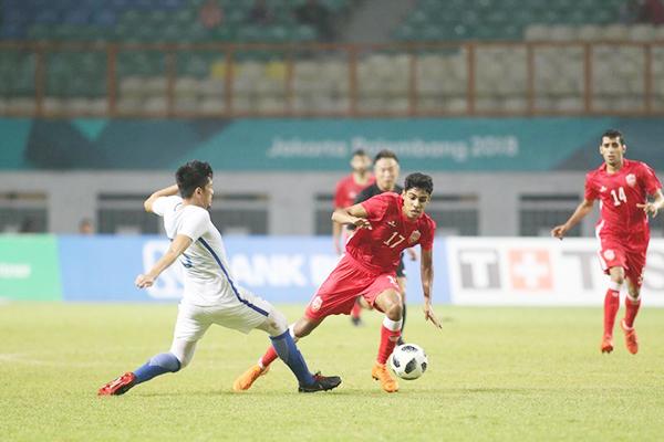 U23 Việt Nam, U23 Bahrain, ASIAD, vòng 1/8, Văn Thanh, Văn Hậu