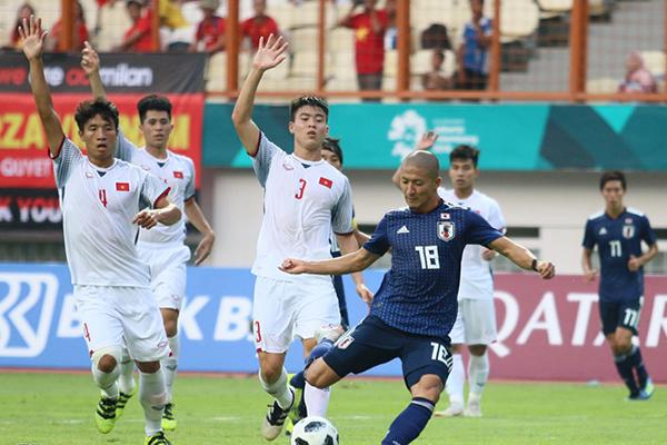 U23 Việt Nam, U23 Bahrain, ASIAD, vòng 1/8, Maeda, Văn Thanh, Văn Hậu