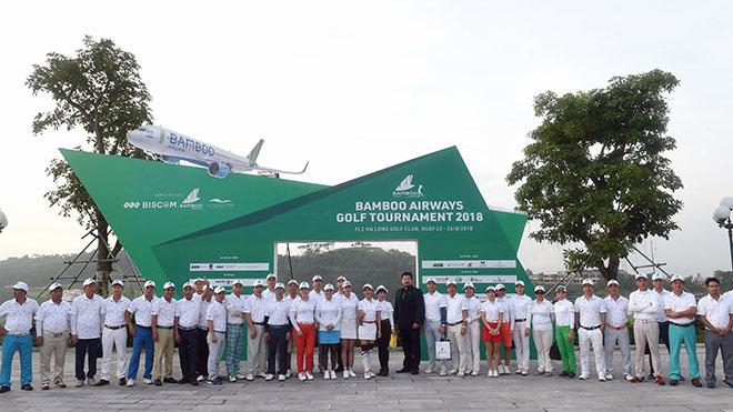 Khởi tranh Bamboo Airways Golf Tournament 2018