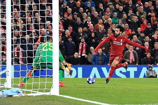 Kết quả bóng đá hôm nay, kết quả cúp C1 hôm nay, kết quả Liverpool vs Napoli, video clip Liverpool vs Napoli, Liverpool vs Napoli, Mohamed Salah, bảng xếp hạng cúp C1