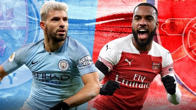 Ngoại hạng Anh vòng 25: Man City đại chiến Arsenal, thời cơ lớn cho M.U
