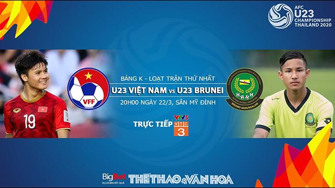 Lịch thi đấu U23 châu Á. Lich thi dau U23 Việt Nam. U23 Indonesia. VTC3. VTV6