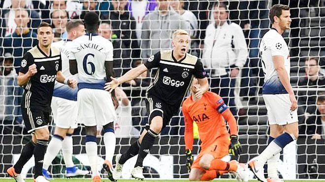 VIDEO Tottenham 0-1 Ajax: Đánh sập London, Ajax đặt một chân vào chung kết Cúp C1