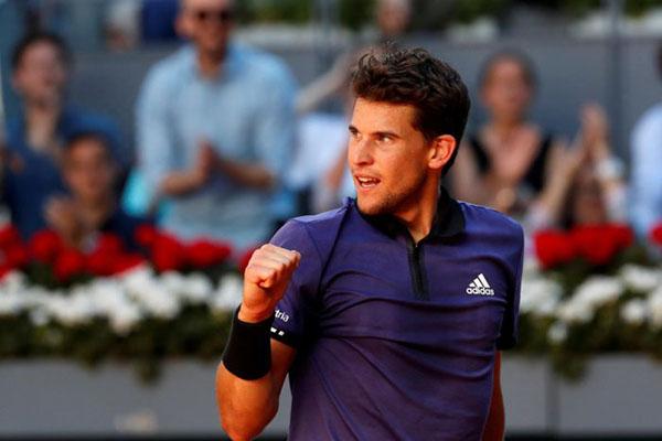 Kết quả Madrid Open, kết quả Madrid Masters, lịch thi đấu Madrid Open, Madrid Masters, Federer vs Thiem, Nadal vs Wawrinka, Djokovic vs Cilic, highlight Federer vs Thiem