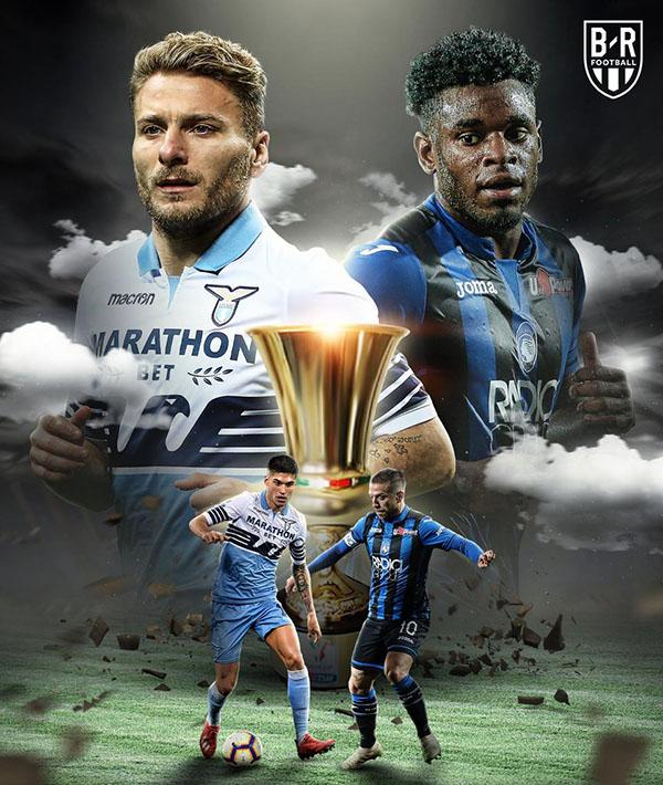 Lịch thi đấu bóng đá hôm nay, trực tiếp bóng đá, truc tiep bong da, trực tiếp chung kết cúp Ý, trực tiếp Lazio vs Atalanta, play-off Ngoại hạng Anh, West Brom Aston Villa